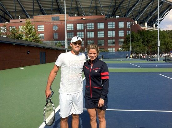 Andy Roddick and Kim Clijsters
