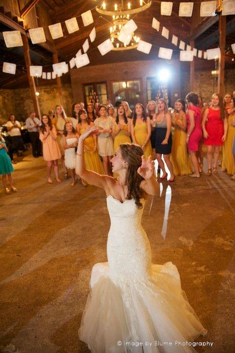 Garter Toss Bouquet Toss Wedding Traditions Snapknot Wedding Reception Fun Wedding Reception Games Wedding Garter Toss