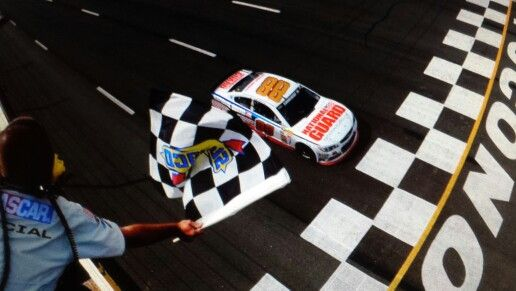 June 8, 2014 @ Pocono Raceway.  Second win for the season