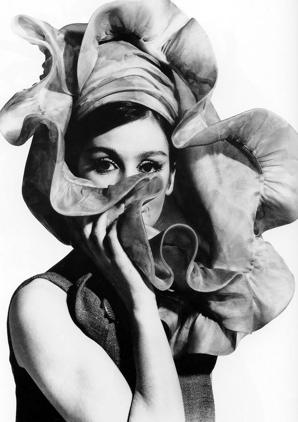 Audrey Hepburn. Photo by Rico Puhllman. | { Chapeautées ...
