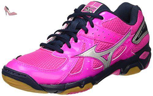 Mizuno Wave Sayonara 4 (w), Chaussures de Running Compétition Femme, Rose (Diva Pink/Silver/Liberty), 39 EU