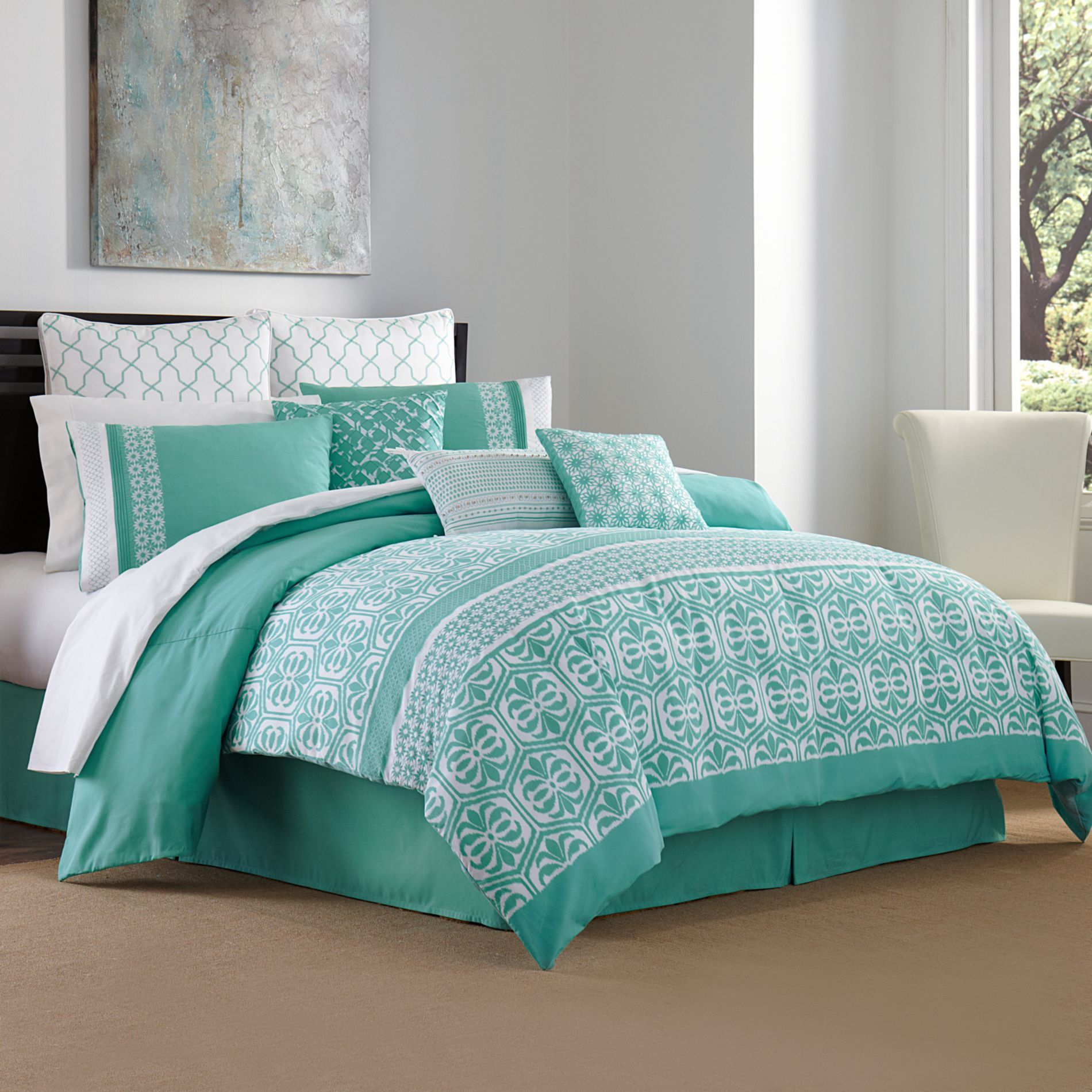 maya 3 4 piece comforter set bedbathandbeyond com bedding