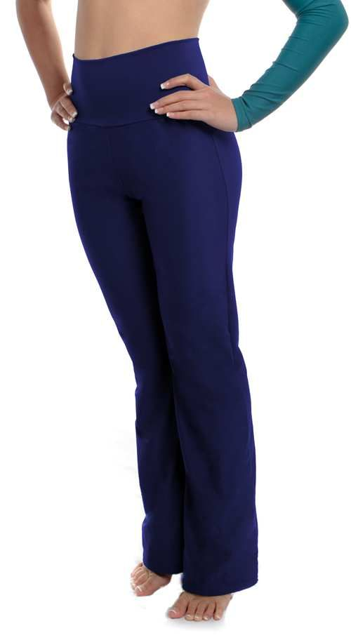 Navy High Waist Dance Pants 200+ color Choices. Handmade in the USA! $33.99