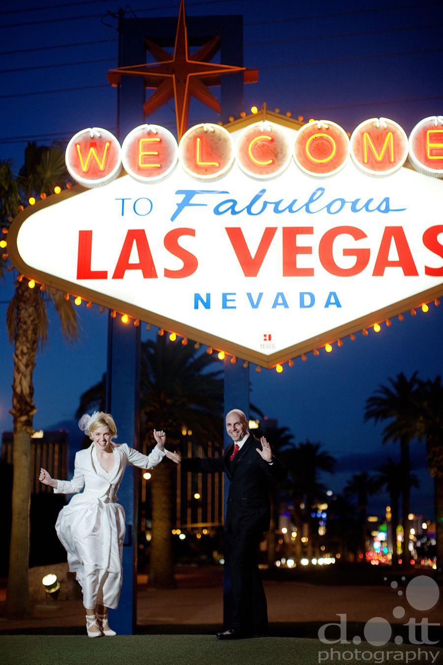 Just Married In Fabulous Las Vegas!