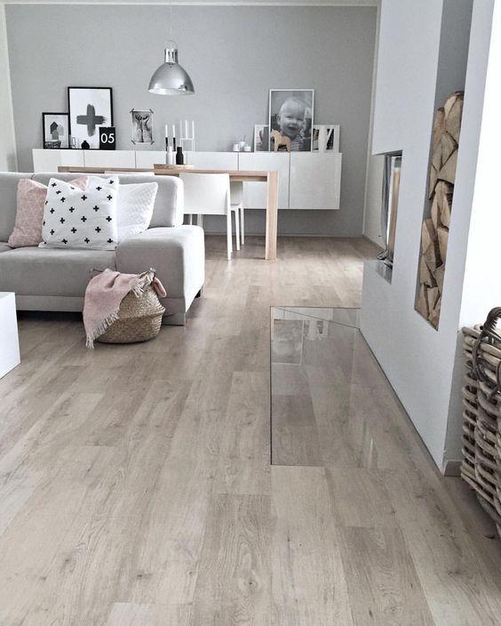 skandinavisches Design Ikea Besta Sideboard - Wohnzimmer - wohnzimmer weis grau beige