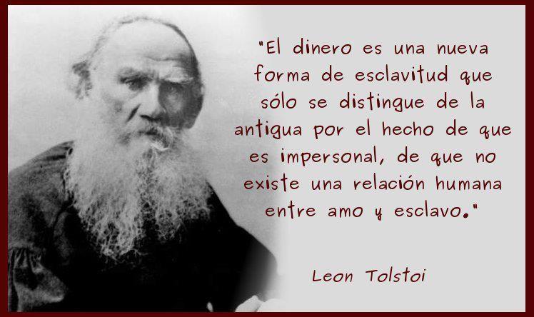 Dinero Leon Tolstoi Frases Y Frases De Leones