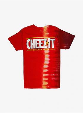 Cheez It Logo Tie Dye Girls T Shirt Tie Dye Girl Girls Tshirts T Shirt Image