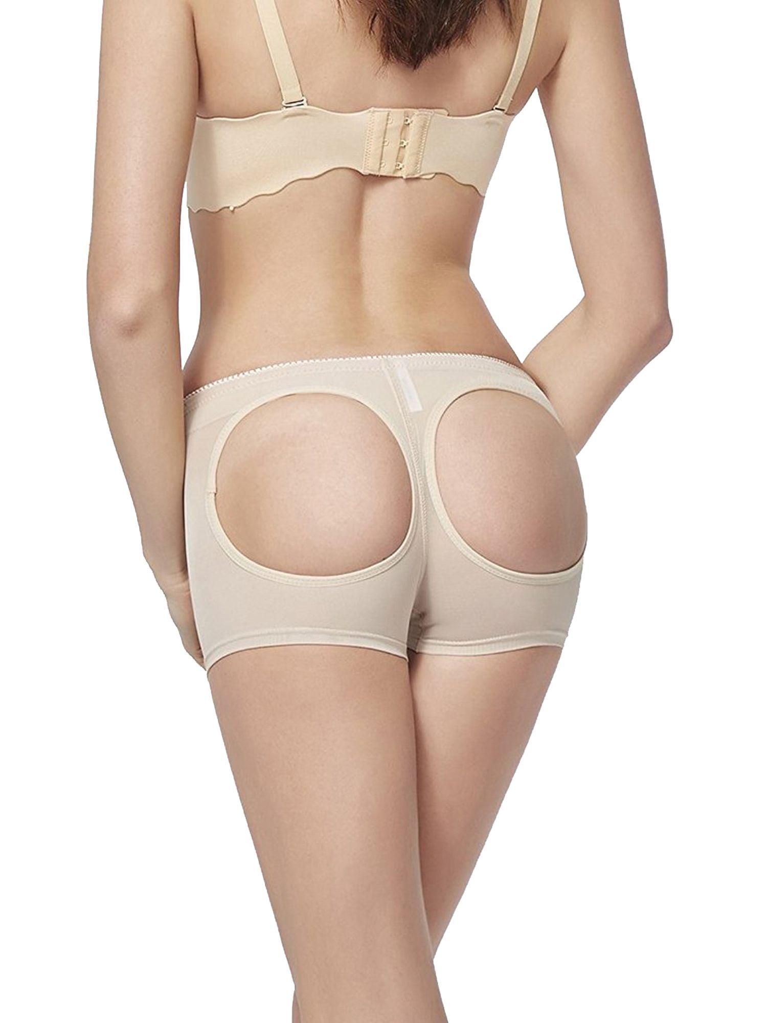 bcdf24d5fd4 SAYFUT Women s Sexy Seamless Butt Lifter Hip Enhancer Boyshorts Body Shaper  Pants Tummy Control Panties Shapewear Underwear 2-Pack Hip