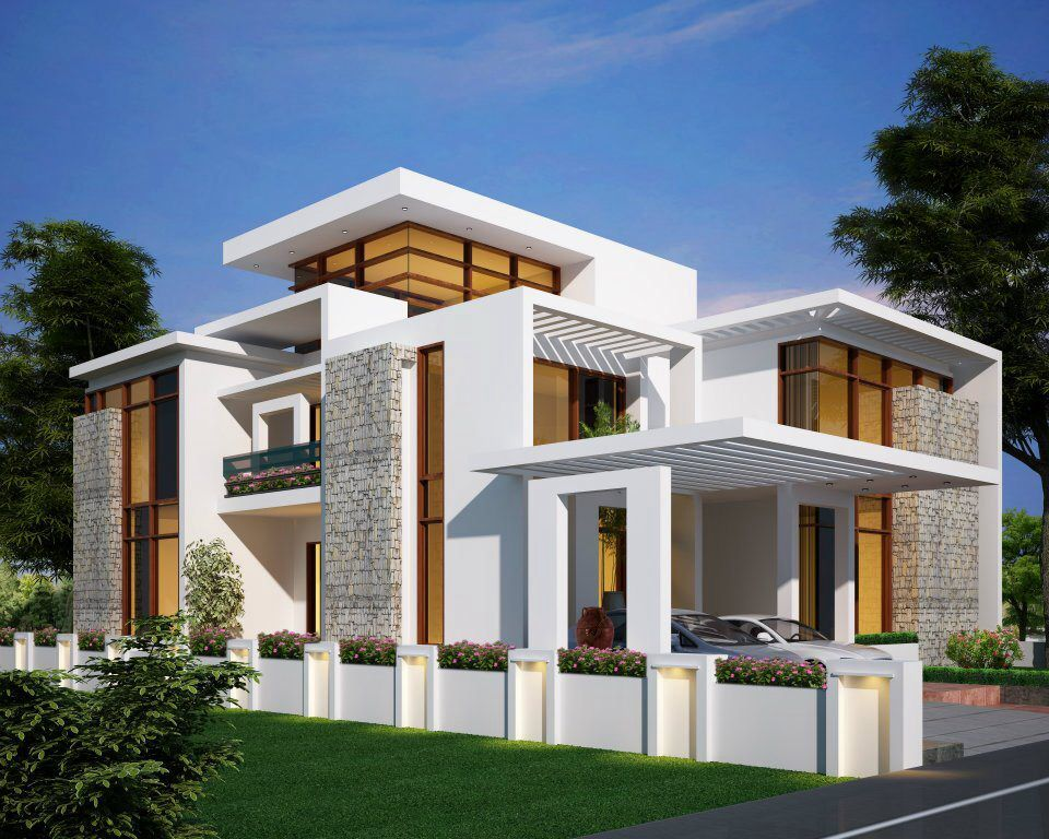 Contemporary home 2700 sq ft 251 m yards  House Plans Home Floor and Building Designs No 2614 Decor Design Beautiful Indian Pinterest
