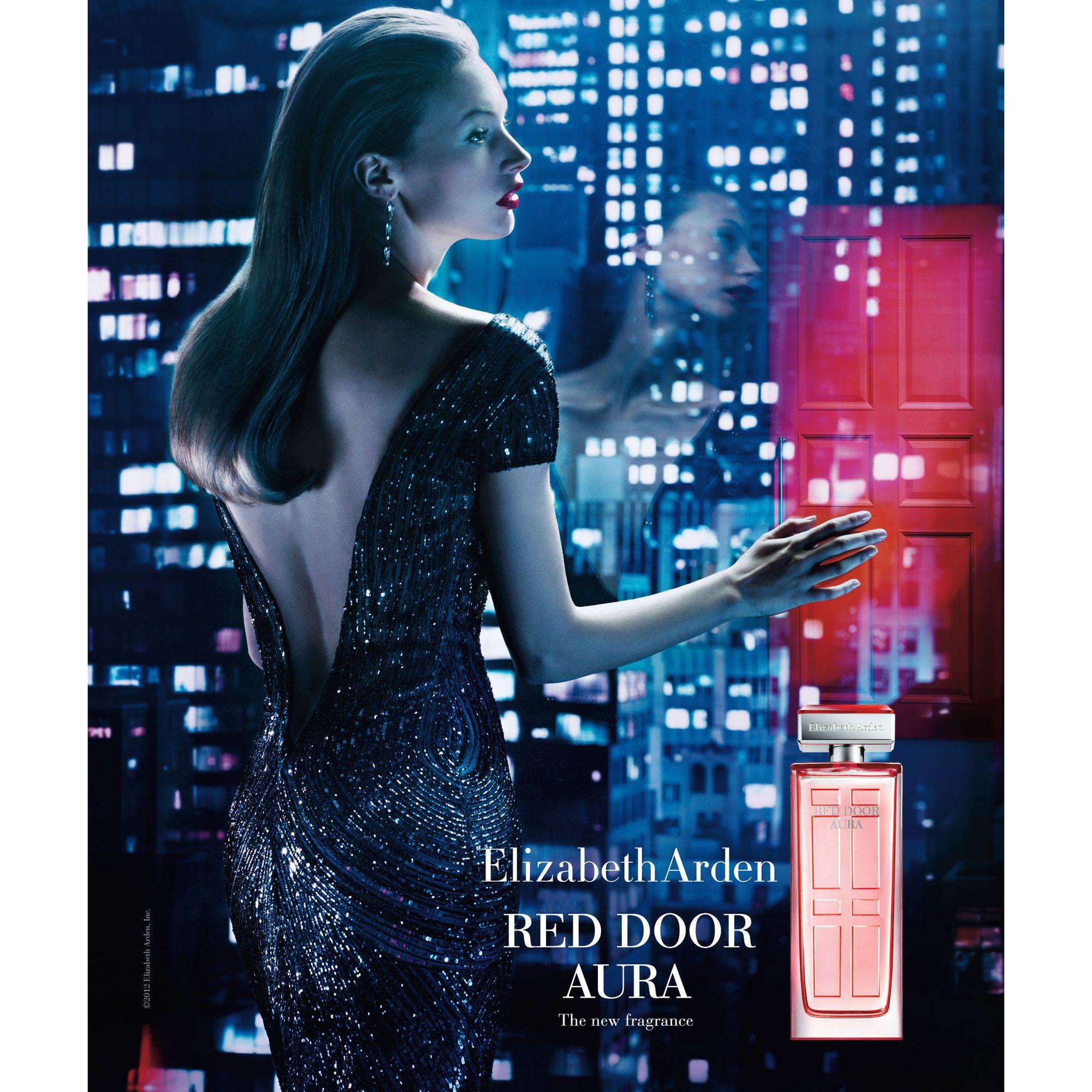 Elizabeth Arden Red Door Perfume Ad