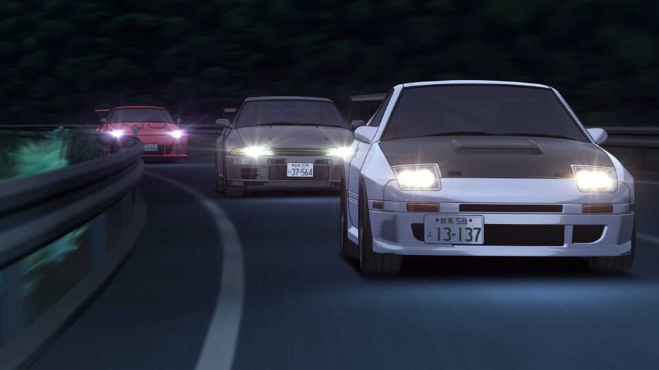 Pin By Alejandro On Anime Stuff Initial D Initials Cool Car Pictures