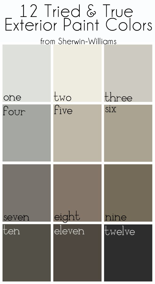 Modern Exterior Paint Colors For Houses | Gauntlet gray, Repose ...