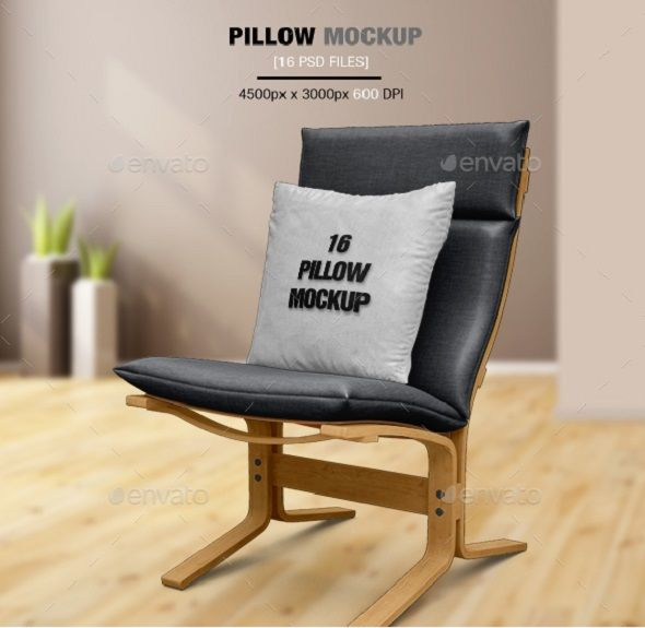 100+ Fabulous Photo Realistic Pillow Mockup Designs (2018) Mock up