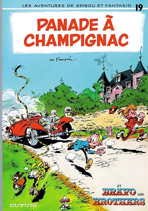 Panade Champignac Learn French Comics Comic Covers