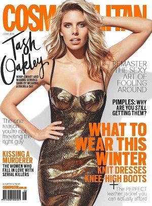 @cosmoaustralia #magazines #covers #June #2016 #TashOakley #winter