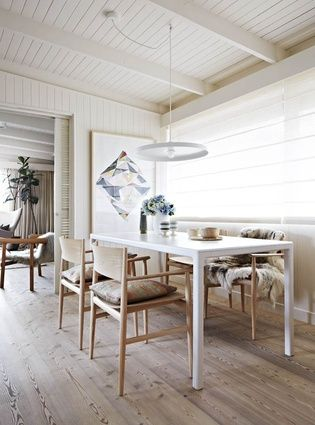 The dining area of Simone Haag. Ringwood Melbourne house fondly ...