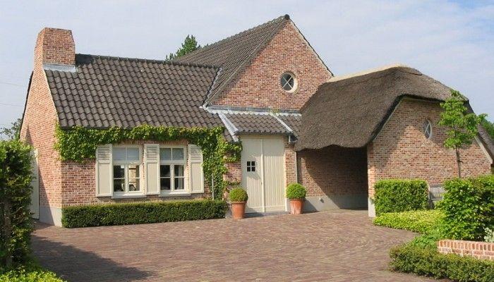 Villa landelijke stijl duurzaam bouwen bouwbedrijf for Landelijke woning te koop