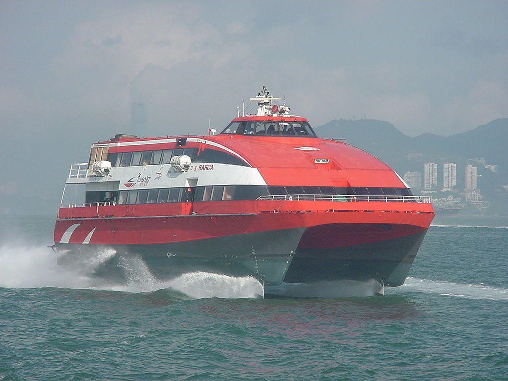 20091109-TurboJET Barca - Hydrofoil - Wikipedia, the free