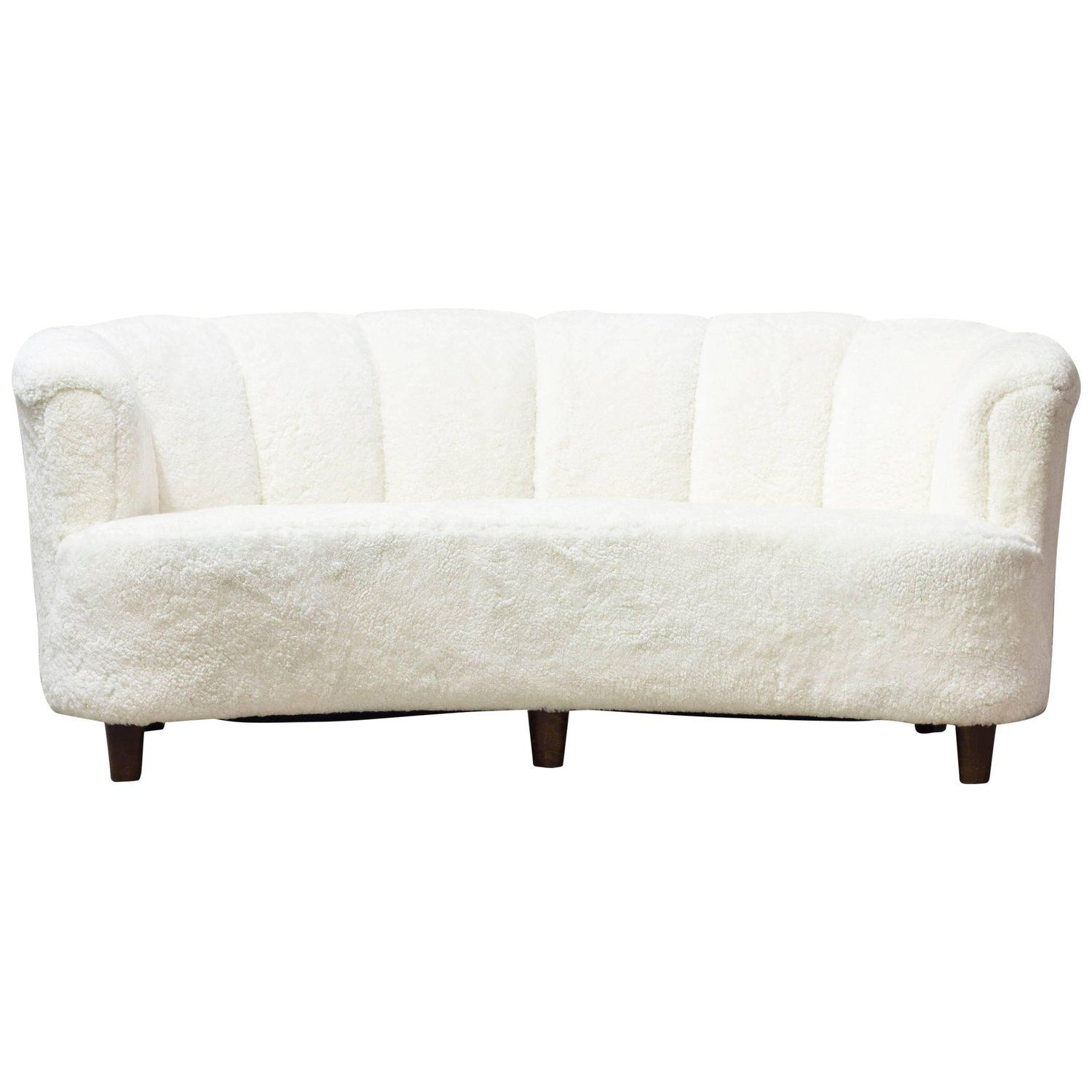 Fabulous 1930S Sheepskin Sofa Otto Schulz For Boet Vintage Sofa Squirreltailoven Fun Painted Chair Ideas Images Squirreltailovenorg