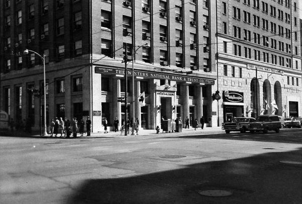 Winters Bank, North Main St. 1959 | Dayton ohio, Street view, Hometown
