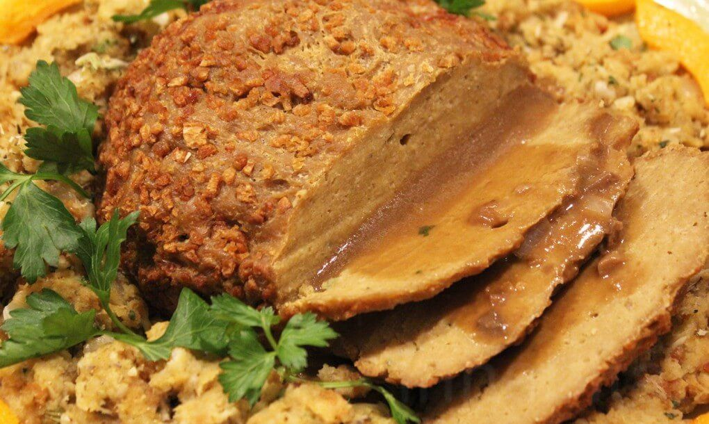 "Photo of Vegan Turkey Recipe For Whole ""Turkey"" – Very Vegan Recipes"