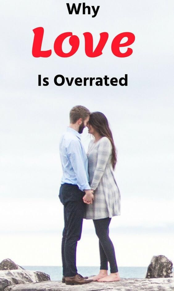 What does dating is overrated mean