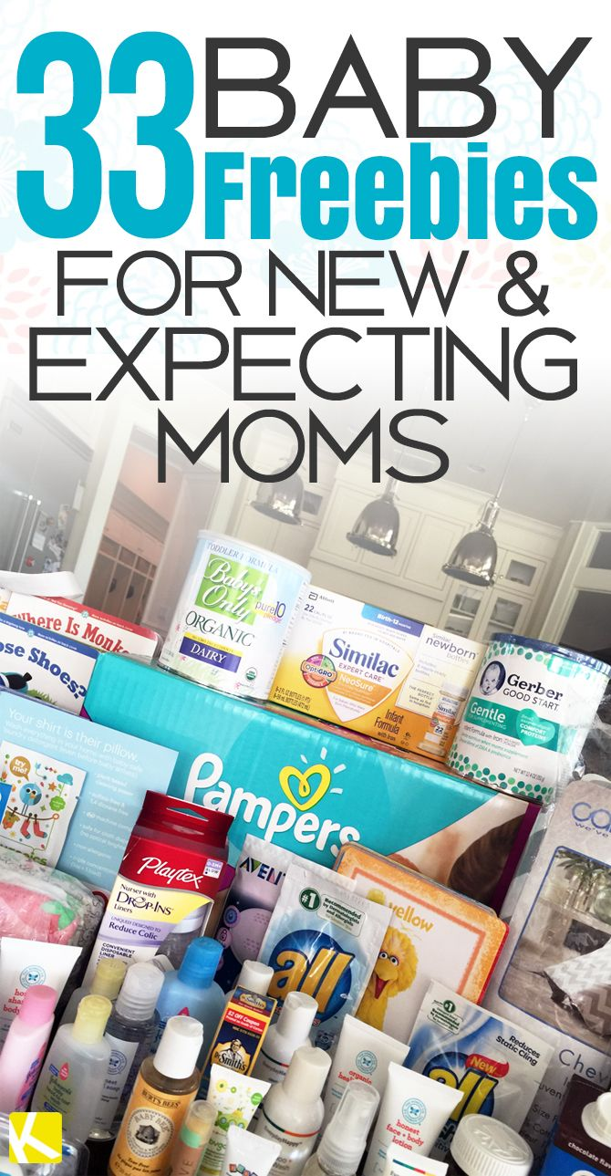 Freebies for pregnant moms 2018