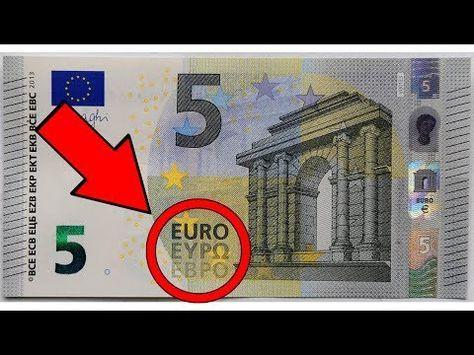 Dieser 5 Euro Schein Macht Dich Reich Youtube Euro Scheine Altes Geld Wertvolle Munzen