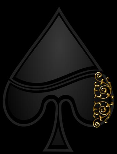 Vector Image Of Spade Playing Card Symbol Vegas Pinterest