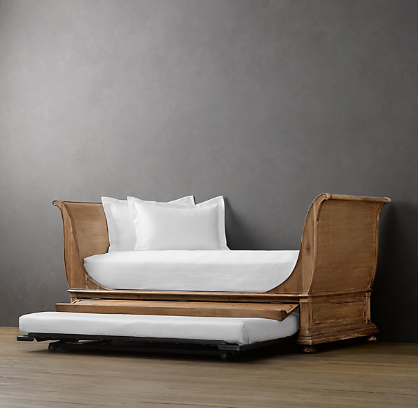Sleigh Bed Daybed With Trundle Zorginnovisie
