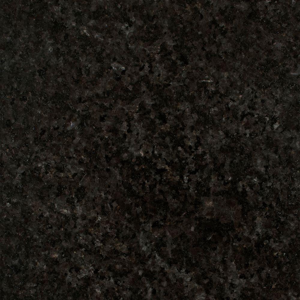 Stonemark 3 In X 3 In Granite Countertop Sample In Black Pearl Dt G915 The Home Depot Granite Countertops Stonemark Granite Black Pearl Granite