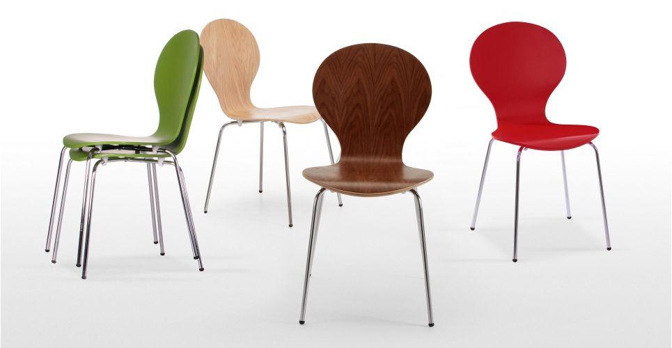 Sedie Jacobsen ~ Set di due sedie da tavolo kitsch rovere made.com city house