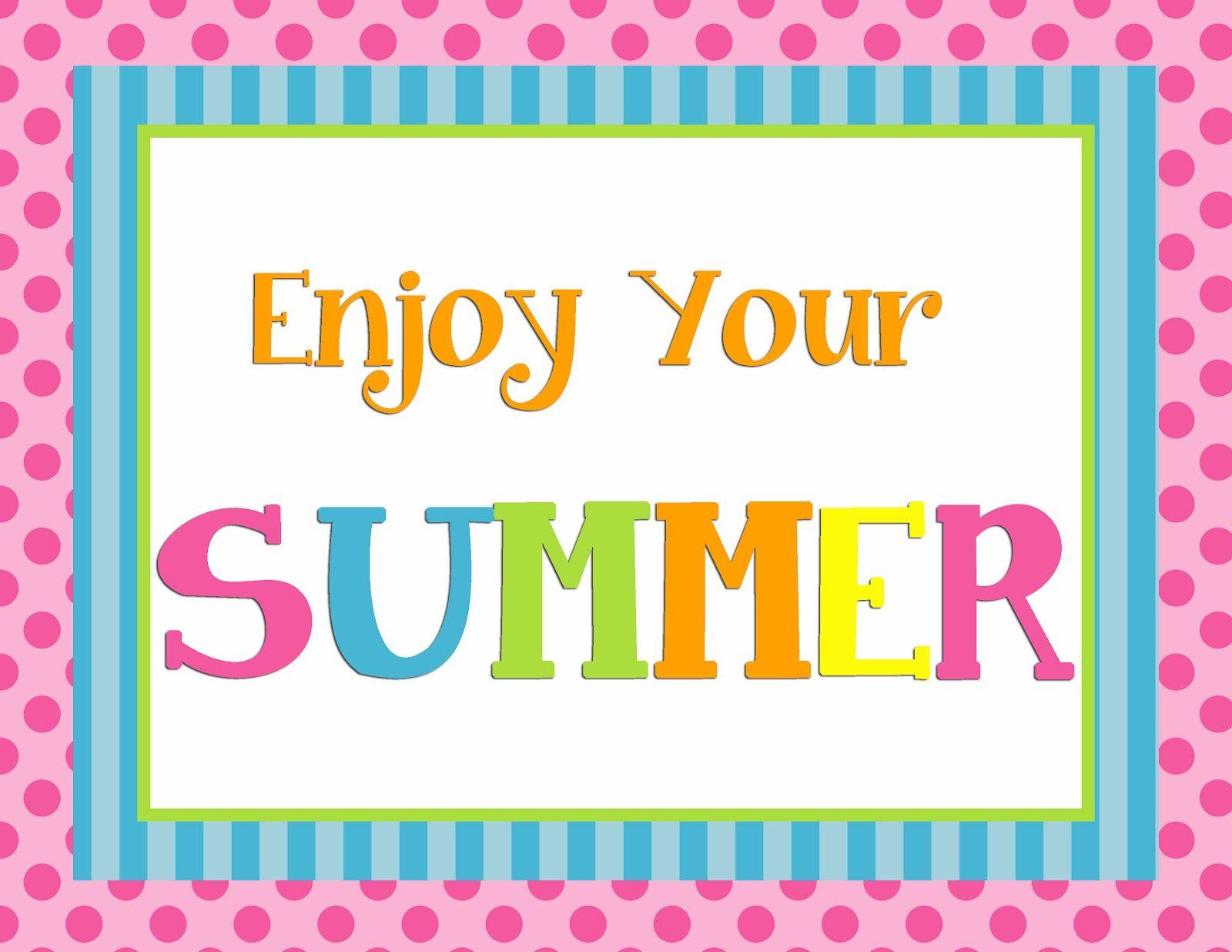 graphic regarding Summer Printable named Totally free Printable summer season indicator Free of charge Printables Summer time indicators