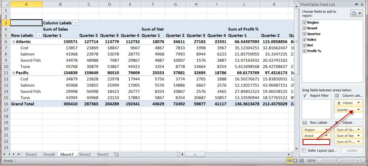 Pivot Table Excel   Custom Home Office Furniture Check More
