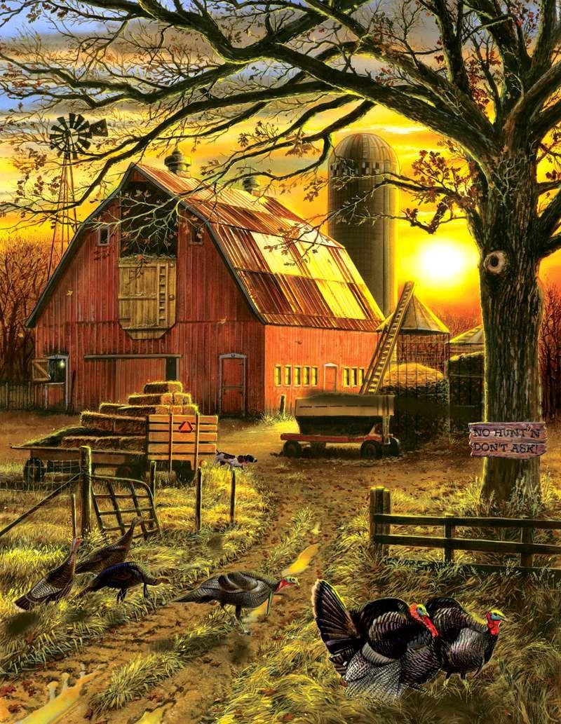 Doug Knutson Sunset Barn