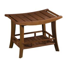 Boston Loft Furnishings Oiled Teak Teak Freestanding Transfer Bench Atg4285 Teak Shower Stool Shower Stool Teak