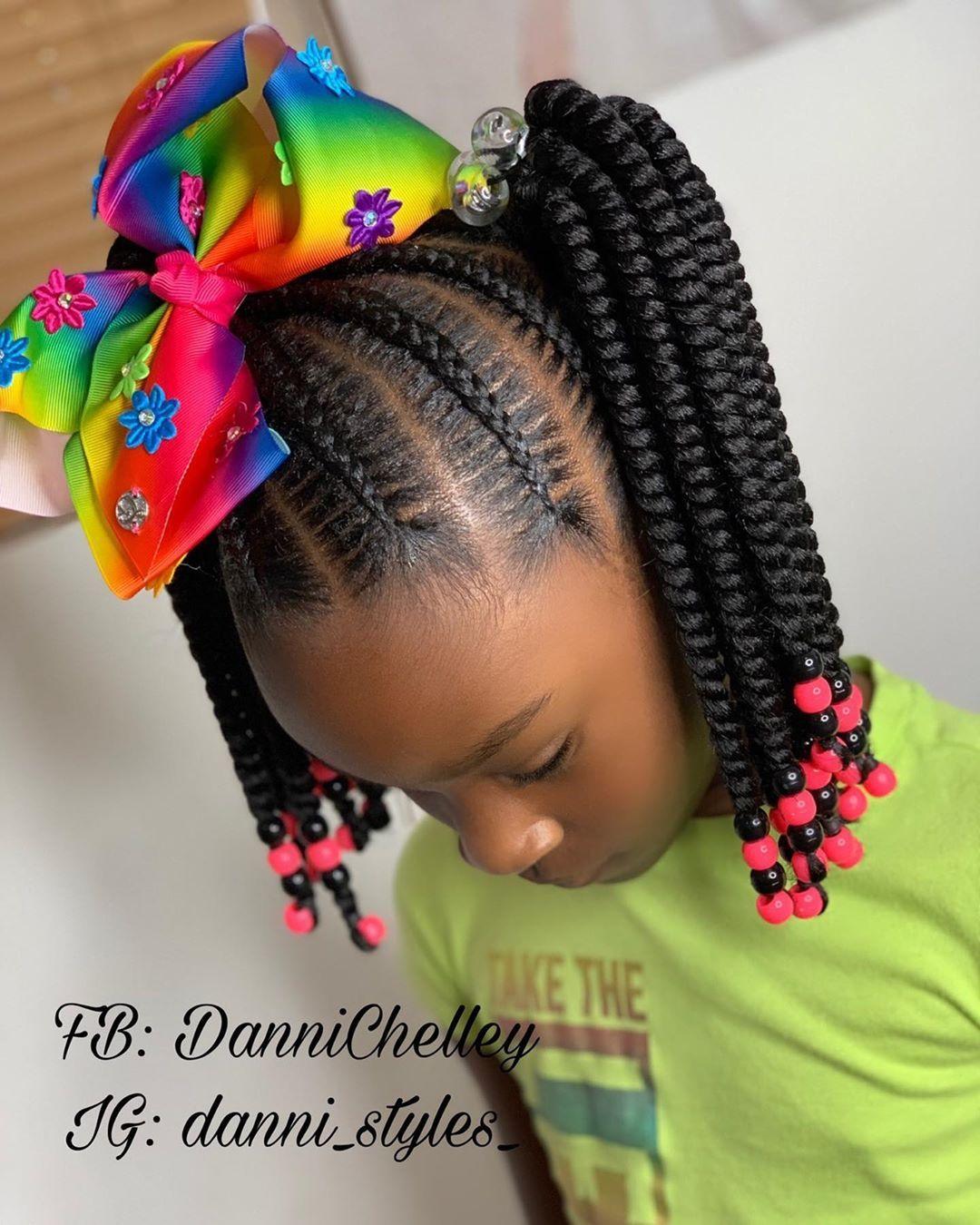 L Image Peut Contenir Une Ou Plusieurs Personnes Et Gros Plan Kids Hairstyles Hair Styles Twist Hairstyle Kids