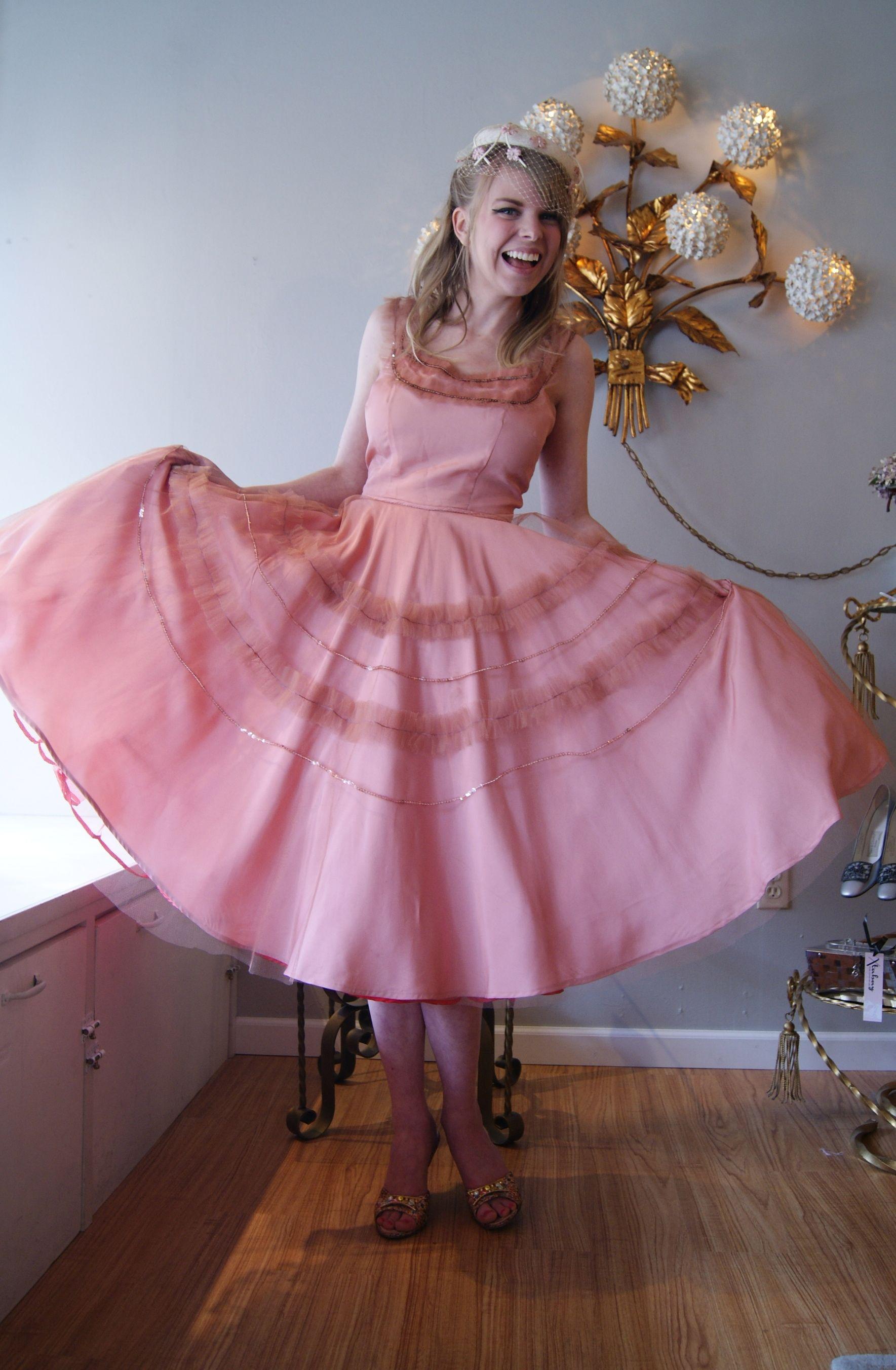 vintage prom dress at Xtabay.