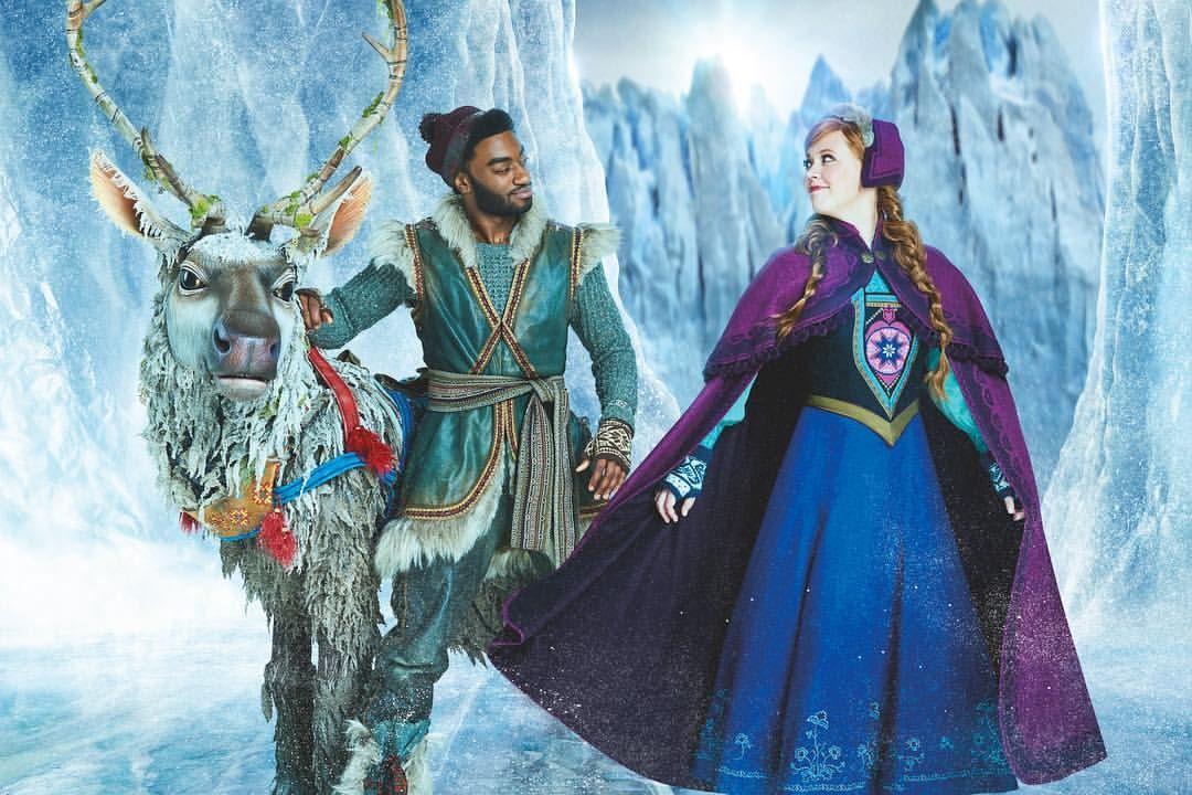 Happy Frozenfriday Go Get The Cast Recording Anna Kristoff