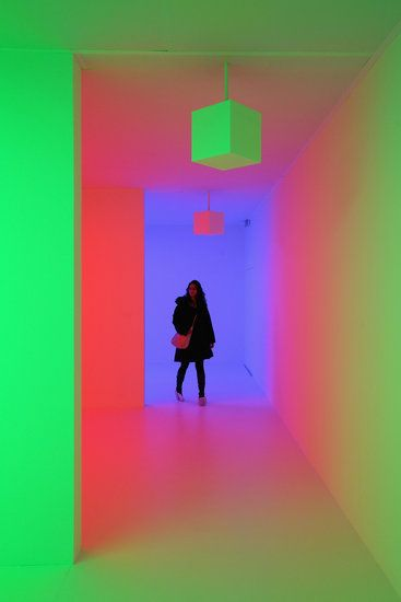 Rainbow Bright #lightartinstallation