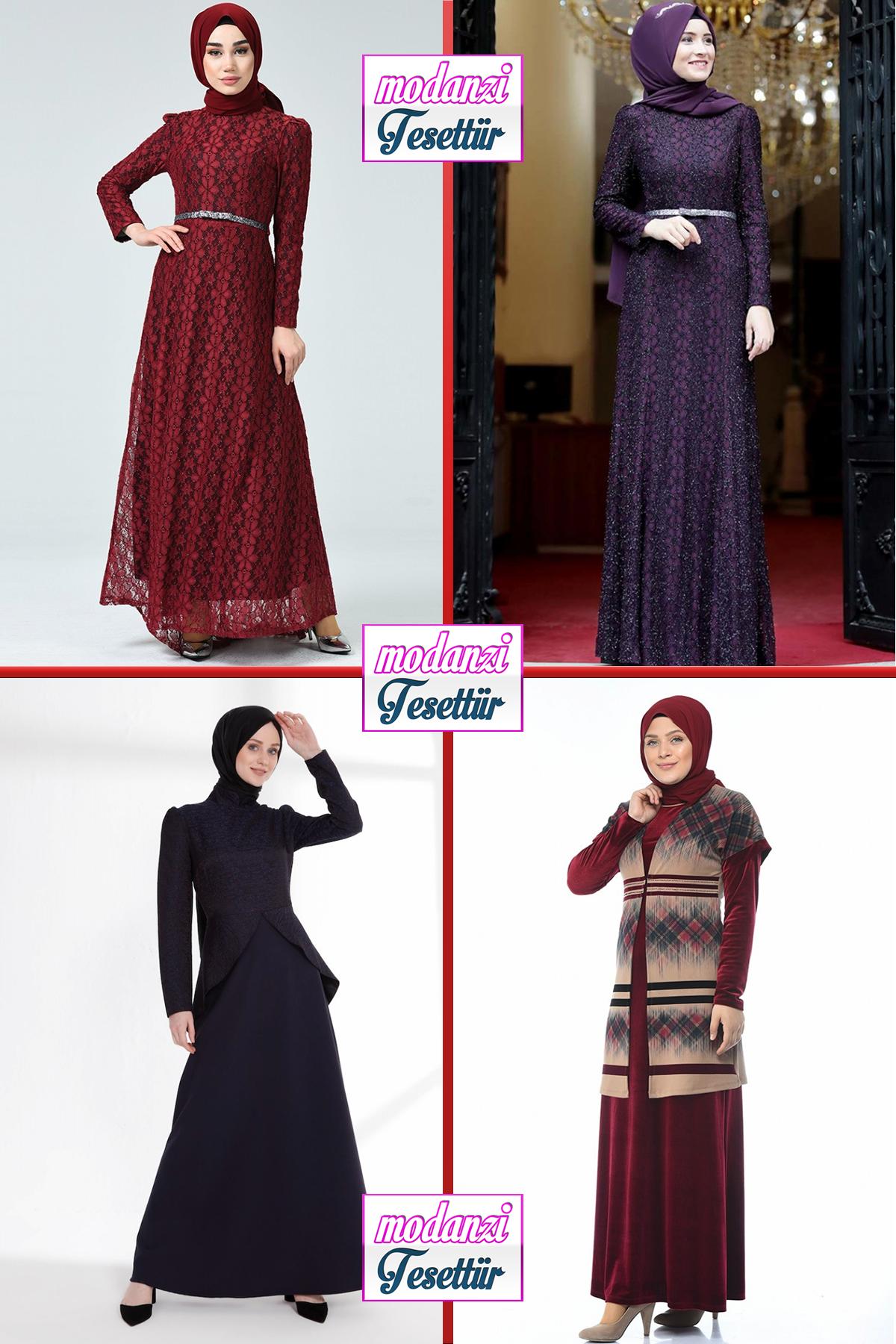 2020 Sefamerve Tesettur Abiye Elbise Modelleri 15 30 Abendkleid Evening Dress 2020 Moda Stilleri Elbise Moda