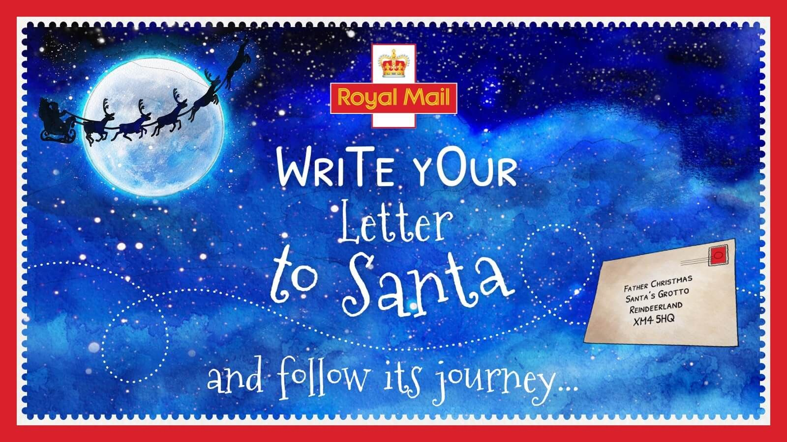 It's time to send your Christmas letters to Santa! Last