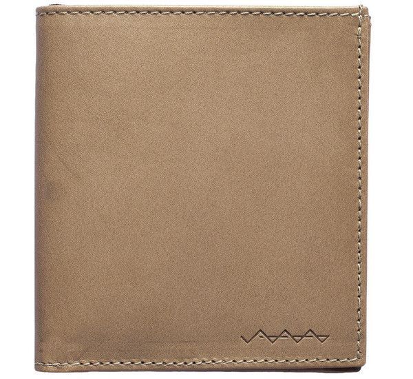 Picture of Berg & Berg suede lined wallet in stone