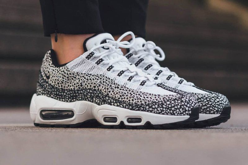 54204edb6316 Женские и мужские кроссовки в стиле Nike Air Max 95 Premium Safari ...