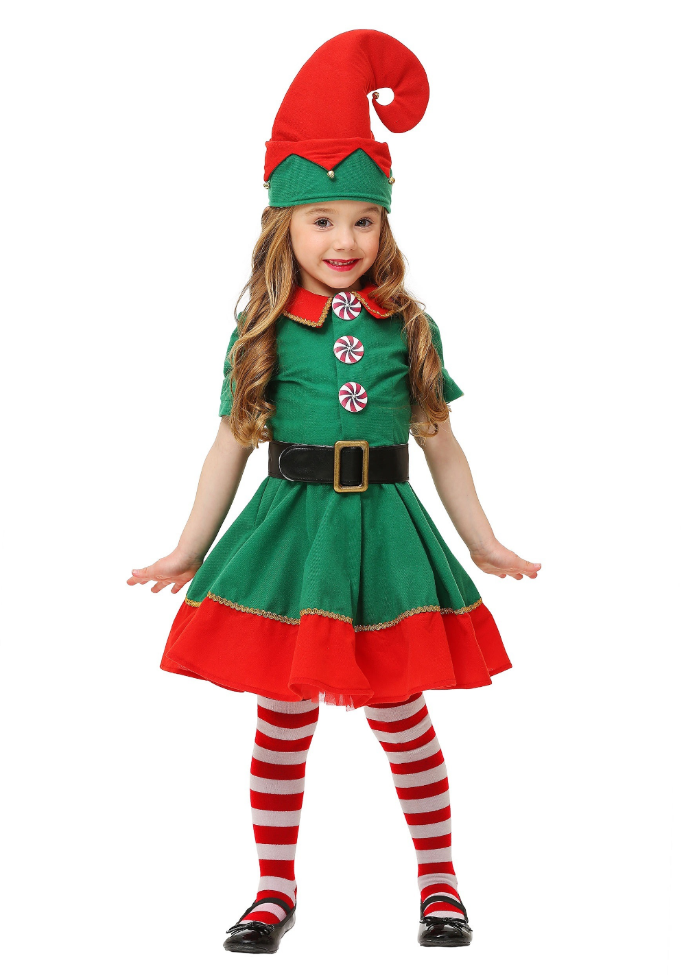 Toddler Holiday Elf Costume in 2020 Girl elf costume
