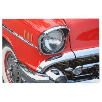Chevrolet Classic Car Metal Print   Zazzle.com