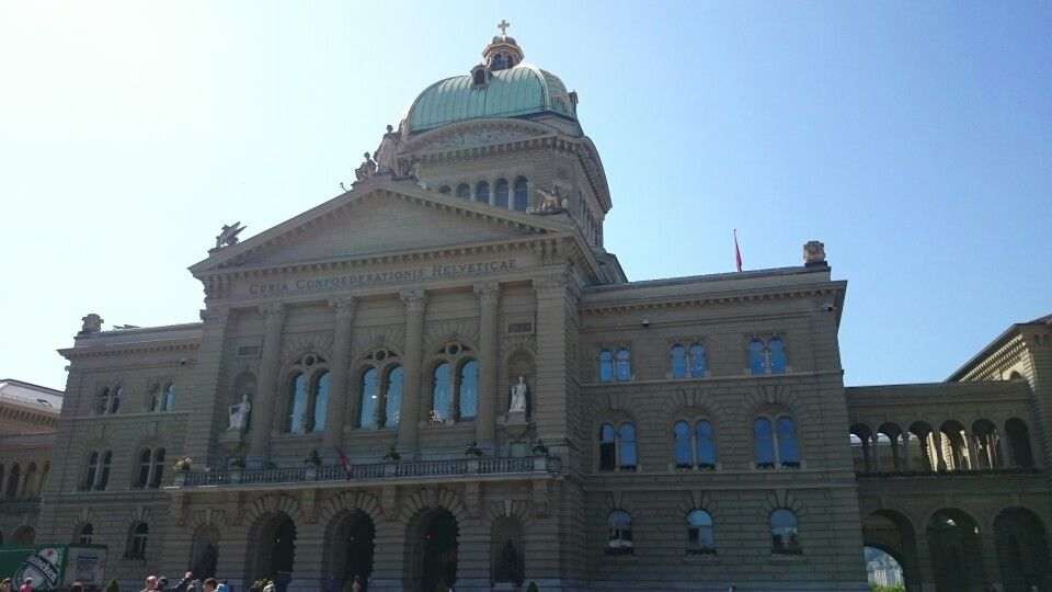 """This is the """"house of parlament"""" in bern, switzerland"""