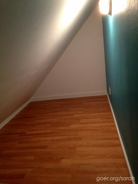 Attic Crawl Space Turned Into A Hideaway Kids Bedroom Remodel Remodel Bedroom Attic Renovation