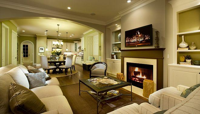 John Wieland Homes New Home Design Studio Family Room