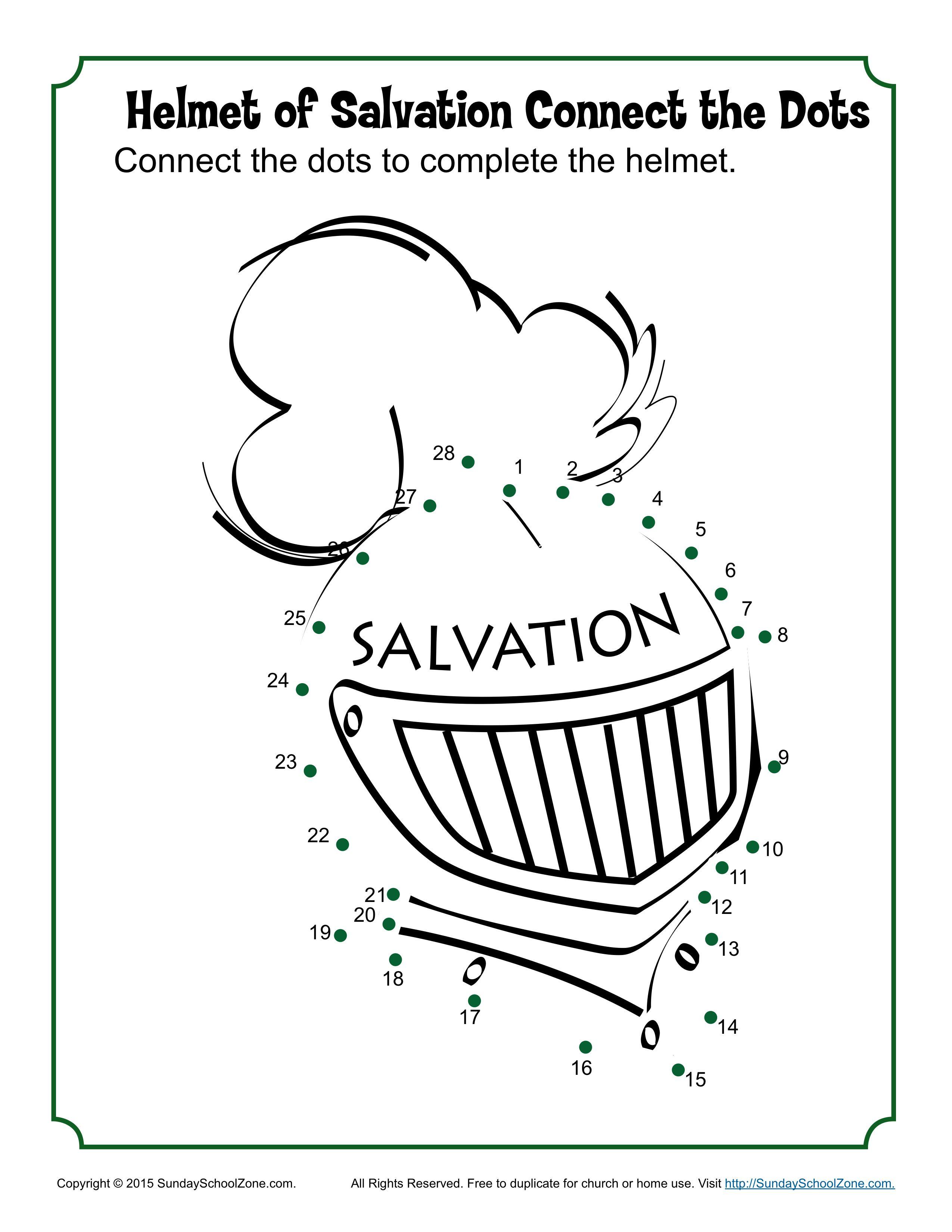 Crafts For Bible School Helmet Of Salvation